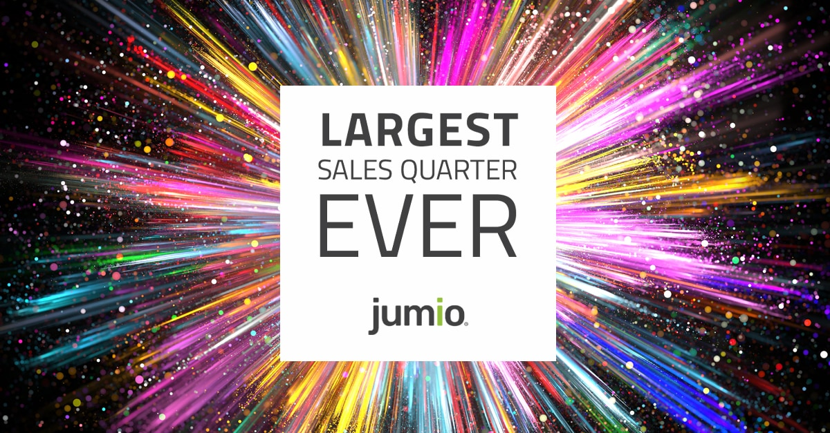 Largest Sales Quarter Ever Jumio
